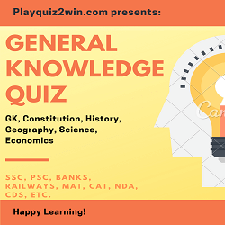 General Knowledge Quiz | Playquiz2win